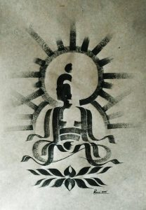 BUDDHA STROKES 3